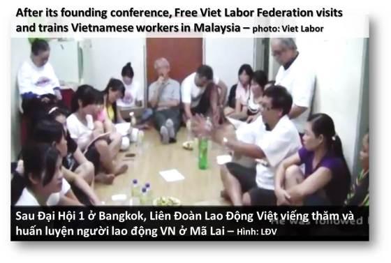 ILLUS - Liên Đoàn Lao Động Việt ra mắt và huấn luyện công nhân ở Mã Lai - web 4c02
