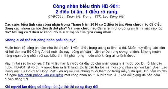 illus article dvt 20140607 20140525- cong nhan bieu tinh hd-981- 2 dieu bi an 1 dieu ro rang