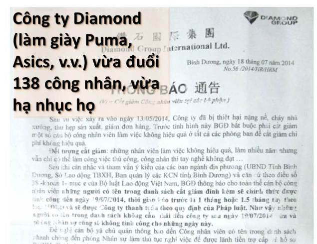 ILLUS BanTinLDV 20140725 Cong ty Diamond duoi viec vo ly
