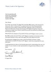 DLotO Letter