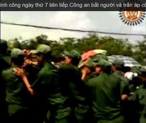 illus strike pouyuen day 7 police pushing