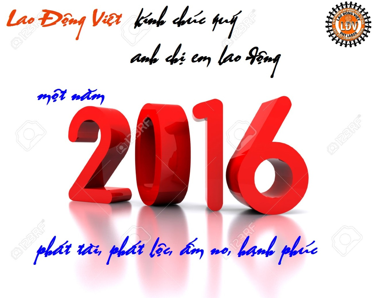 TỔNG KẾT MỘT SỐ HOẠT ĐỘNG CỦA LAO ĐỘNG VIỆT TRONG NĂM 2015
