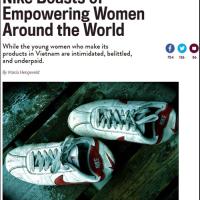 Bản Tin LĐV: 20160828 Nữ công nhân Việt lên tiếng về Nike trên báo Slate